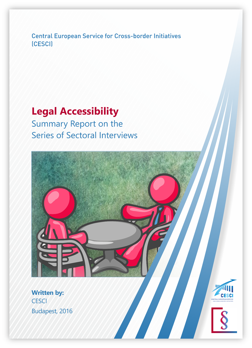 Cover: Summary report on the series of sectoral interviews